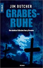 Buchcover Jim Butcher - Harry Dresden: Grabesruhe