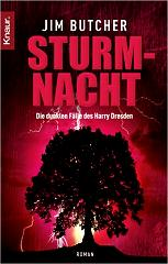 Buchcover Jim Butcher - Harry Dresden: Sturmnacht