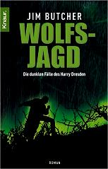 Buchcover Jim Butcher Harry Dresden: Wolfsjagd